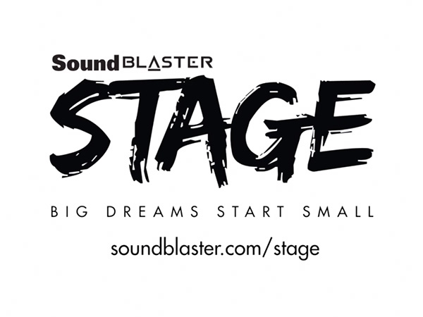 The new Sound Blaster Stage product.