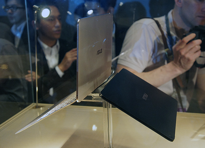 The concept of the Transformer Book T300 Chi is not new, but it is super slim.