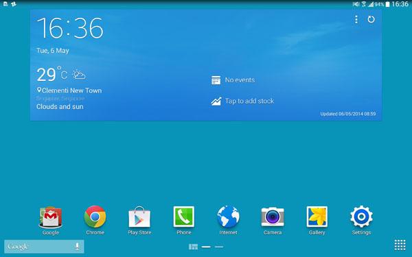 Samsung TouchWiz UX