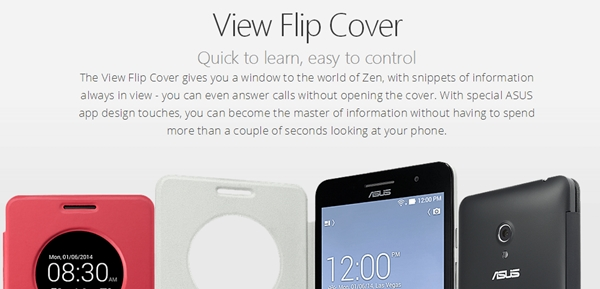 Only the black and white View Flip Covers are sold in Singapore at the moment. <br> Image source: ASUS