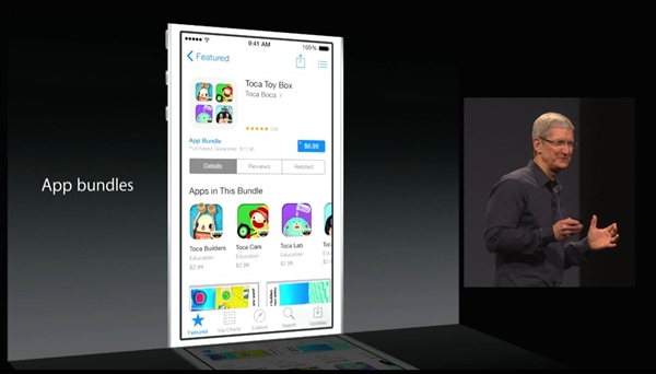 The App Store is home to more than 1.2 million apps and Apple is making it easier for users to find the apps they want.