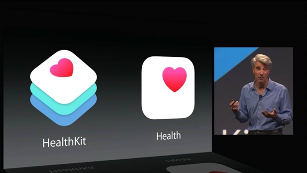 The Health app will record health and fitness data on your iOS 8 device while the HealthKit is a tool for developers to make apps to work with the Health App.
