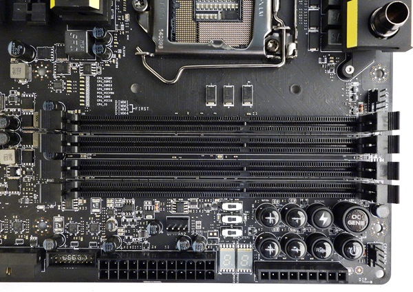 The OC Essentials feature of the board that allows you to overclock the board on the fly in an open workbench environment.