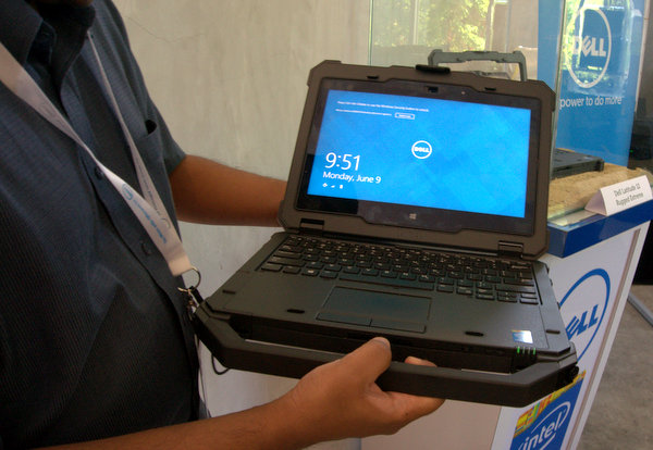 The Laude 12 Rugged Extreme As A Notebook Is One Strong Machine Good Choice