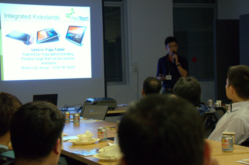 Last but not least, Senior Tech Writer Sidney Wong gave the audience a presentation on various tablet form factors, as well as some buying tips.
