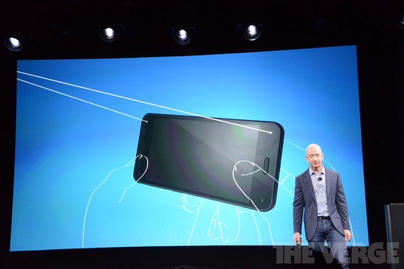 The Fire Phone has four front-facing cameras, but it will only use the best two at one time.