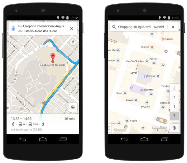 Google Maps on your mobile.