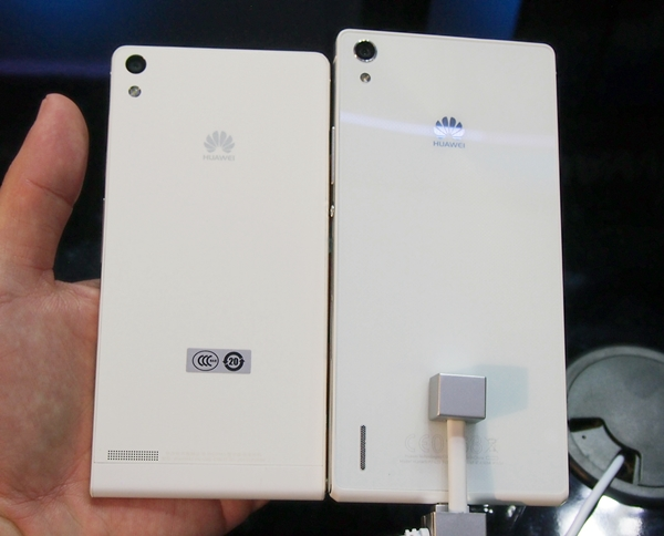 Huawei ascend p6 white vs black