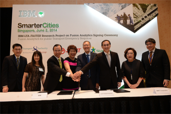 LTA-IBM FASTER Collaboration with Industry Partners - MOU Signing