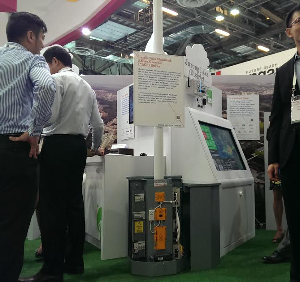 An AG Box at IDA's booth during CommunicAsia 2014.