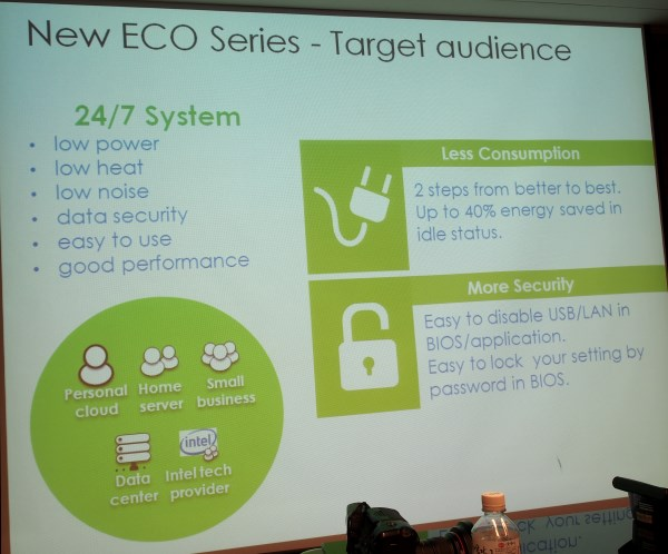 MSI's Eco Series targets home and SMB server setups which are needed to run 24/7.