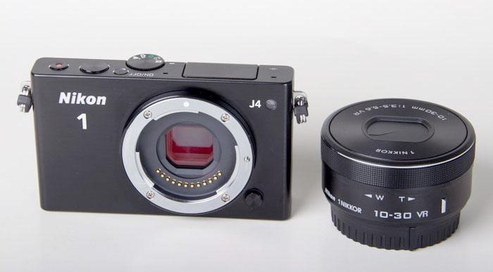 The Nikon 1 J4 and 10-30 f/3.5-5.6 PD-ZOOM kit lens.