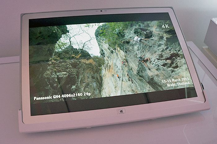 How about 4K tablet for 4K on the go?