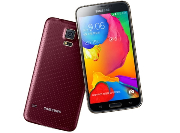This is the Samsung Galaxy S5 LTE-A. <br> Image source: Samsung