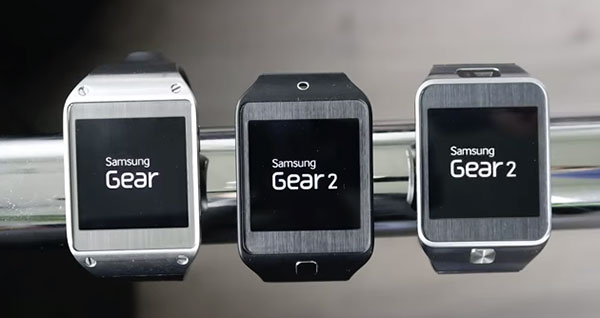 After the update, it's no longer called the Samsung Galaxy Gear, but simply Samsung Gear. (Image source: SamMobile.)
