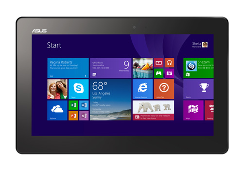 The Asus Transformer Book T100 weighs 550g without the dock, and can be used as a standalone Windows tablet