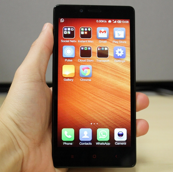 The 5.5-inch Redmi Note is Xiaomi's first phablet.