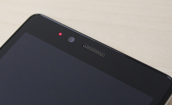 There is also a LED notification on the left of the front-facing camera. You can customize different colors for different notifications.