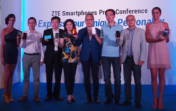 ZTE launched the Nubia Z5S Mini, Blade L2 and KIS 3 at an event in Bali today.
