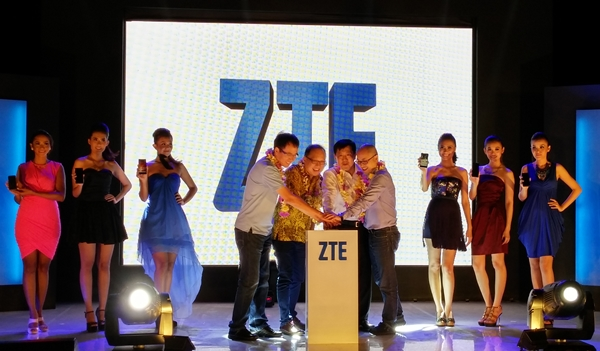 ZTE is expanding its presence in South East Asia with the launch of three smartphones.