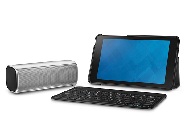 Optional accessories like the Dell Bluetooth Speaker based on Bluetooth 4.0 and easy NFC connectivity will be made available for both the Venue 7 and Venue 8 tablets. The Dell Bluetooth Keyboard Folio, on the other hand, is an optional wireless Android keyboard that doubles up as a cover and stand is available only for the Venue 8.