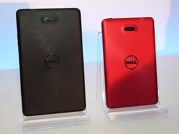 Both the Dell Venue 7 and Venue 8 tablets feature a rather basic 5MP rear camera.