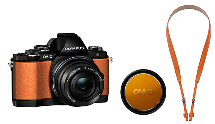 The Limited Edition Orange OM-D EM-10.