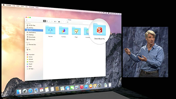 iCloud Drive is Apple's answer to Dropbox.