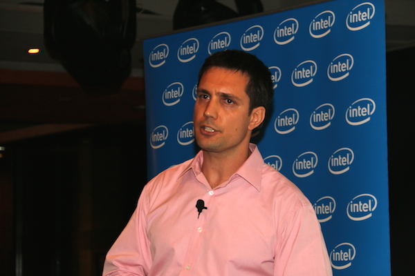 Tom Folderi, Senior Director of Intel's New Devices Group.