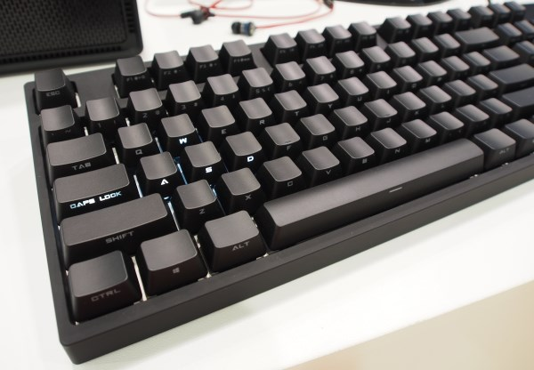 Backlit intelligent stealth keys make the QuickFire Rapid Si an interesting option for minimalist gamers.