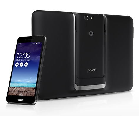 The ASUS PadFone X will be available outside of the U.S. <br>Image source: AT&T
