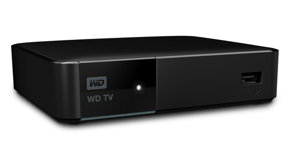 Design-wise, the new WD TV is almost exactly the same as its predecessor, the WD TV Live.