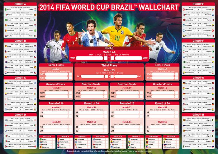 World Cup 2018 Schedule Start Date