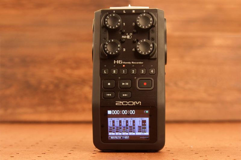 Zoom H6 External Audio Recorder Review - HardwareZone com sg