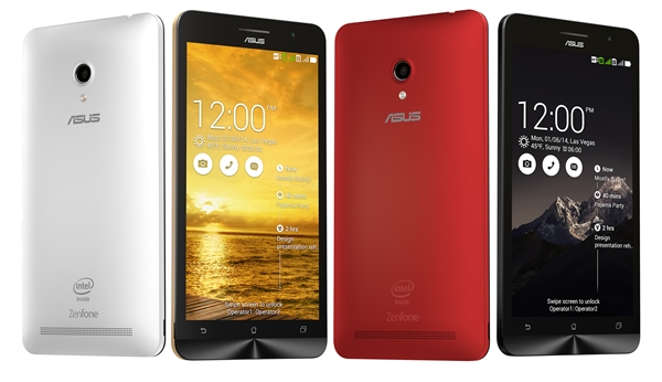 The ASUS ZenFone 6 is available in charcoal black, pearl white and cherry red. <br>Image source: ASUS