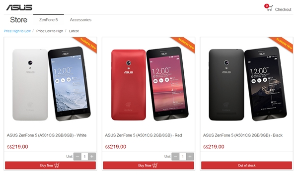 Image source: ASUS Online Store (Singapore)