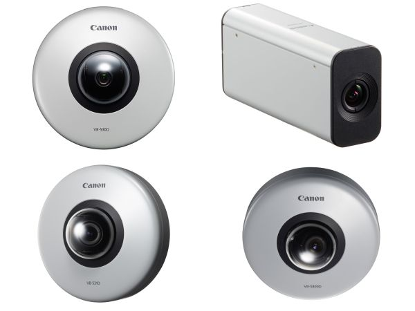 Canon Launches World's Smallest Full HD Security Cameras