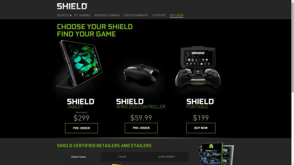 NVIDIA officially announces SHIELD Tablet, now taking pre