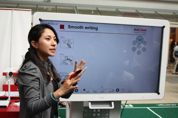 Perfect for both enterprise and educational applications, the Ricoh D5500 Interactive Whiteboard and P3000 Unified Communications Systems are powerful collaboration tools.