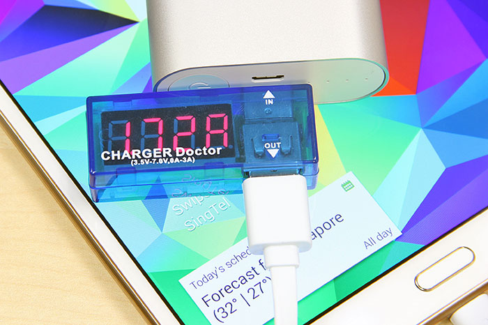 The 5,200mAh Mi Power Bank easily hit 1.5A output in our tests, and sometimes, even went beyond it.