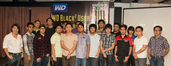 The participants who took part in the two-week screening process of the WD Black2 User Trials attended the technical seminar last week.