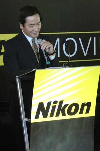 Mr. Noriaki Yamaguchi, President and Chief Regional Officer  of Nikon (S.E. Asia, Oceania, Middle East, Africa Region) was on hand for the launch of the Nikon D810.
