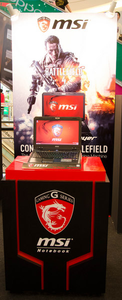The MSI Destroyer is one of the high end notebook that powered with AMD Radeon R9 M290X and AMD Quad-Core A10-Series processor