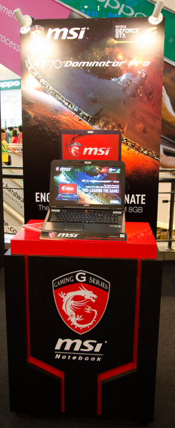 The MSI Dominator is the most powerful among all MSI gaming notebook series that equip with a GTX 880M that capable to outperform any games that available now.