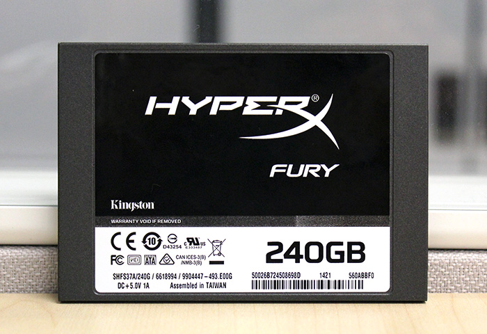 It's been a long time since we reviewed a SandForce-based SSD, so it will be interesting to see how the HyperX Fury fares.