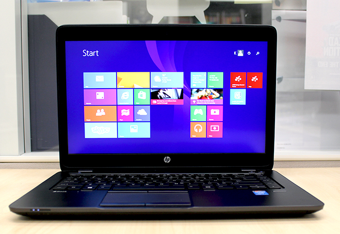The ZBook 14 is touted by HP as the world's first Ultrabook-class mobile workstation.