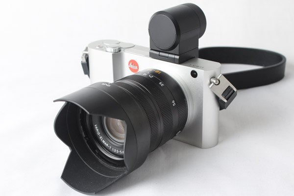 The Leica T and its gorgeous aluminium body.