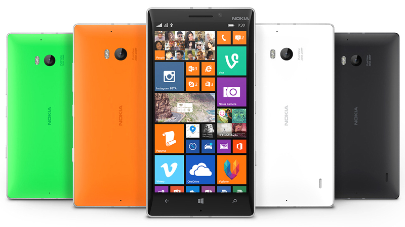The Nokia Lumia 930 was one of the last phones with Nokia branding on it.