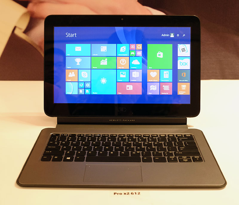 The Pro x2 612 is the first detachable 2-in-1 device built specifically for enterprise use.