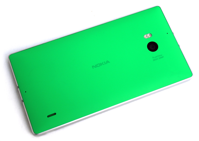 The green and orange models have a matte finish that helps to tone down the bright colors somewhat.